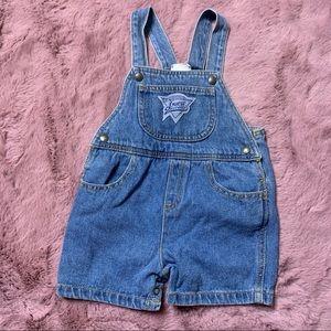Vintage 90s Guess denim shortalls